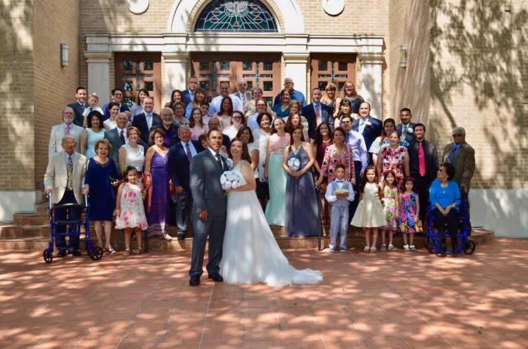Mojica wedding