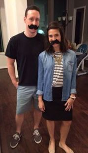 moustaches duo